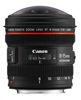 Obiektyw CANON EF, 8-15mm, f/4L Fisheye USM-Canon