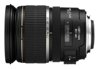 Obiektyw CANON EF-S, 17-55 mm, f/2.8, IS USM, bagnet Canon-Canon