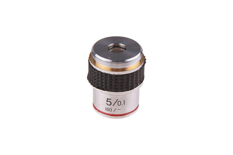 Obiektyw do mikroskopu - 5X (20mm)