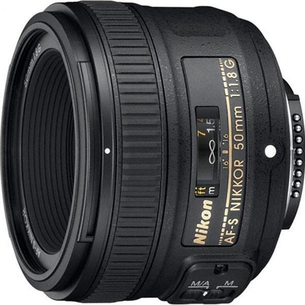 Obiektyw NIKON 50mm f/1.8G Nikkor