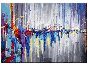 Obraz, Abstrakcyjny wodospad, 100x70 cm-Oobrazy