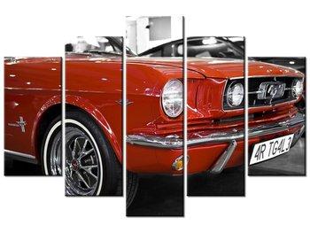 Obraz Klasyczny Mustang, 5 elementów, 150x100 cm-Oobrazy