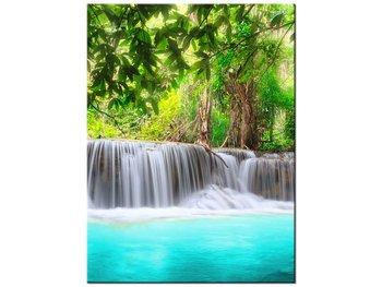 Obraz Lazurowy wodospad, 30x40 cm-Oobrazy