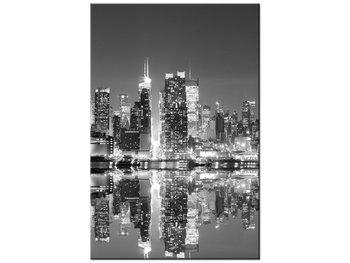 Obraz Manhattan nocą, 40x60 cm-Oobrazy