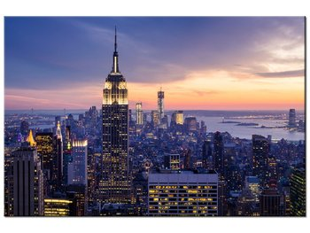 Obraz, Miasto Nowy Jork, 120x80 cm-Oobrazy