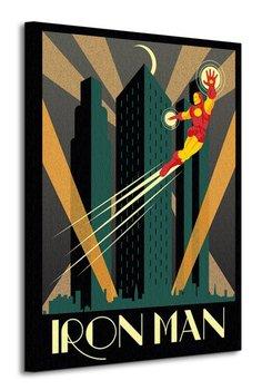Obraz na płótnie ART GROUP Marvel Deco (Iron Man), 60x80 cm-Art Group