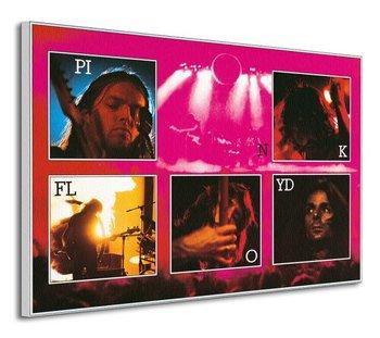 Obraz na płótnie ART GROUP Pink Floyd (Live), 120x85 cm-Art Group