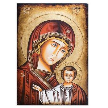 Obraz na płótnie FEEBY Canvas, Matka Boska z Dzieciątkiem bizantyjska ikona Bratysława, 70x100 cm-Feeby