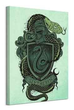Obraz na płótnie PYRAMID POSTERS Harry Potter Slytherin, 60x80 cm-Pyramid Posters