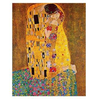 Obraz na płótnie The Kiss (Klimt) 40x50-Legendarte