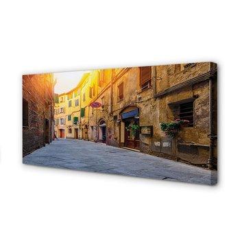 Obraz na płótnie TULUP Włochy Ulica budynki 120x60 cm cm-Tulup