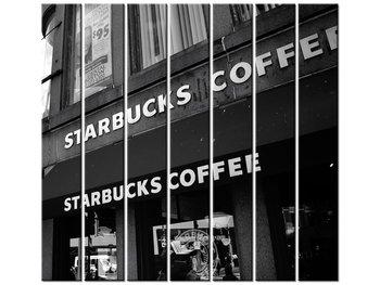 Obraz Starbucks - Mith Huang, 7 elementów, 210x195 cm-Oobrazy