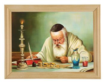 Obraz w drewnianej ramie, 18x24 cm- Talary żyd, Adam Lis-Postergaleria