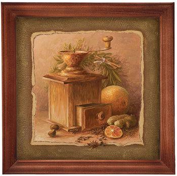 Obraz w drewnianej ramie, 20x20 cm- Młynek, Aleksander Karcz-Postergaleria