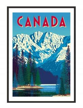 Obraz w ramie czarnej E-DRUK, Kanada, 33x43 cm, P1284-e-druk