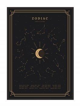 Obraz w ramie czarnej E-DRUK, Zodiak, 53x73 cm, P839-e-druk