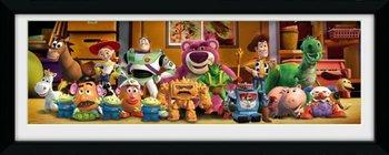 Obraz w ramie GBEYE Toy Story 3 Cast, 75x30 cm-GBeye