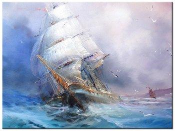 Obraz Żaglowiec, 40x30 cm-Oobrazy