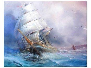Obraz, Żaglowiec, 50x40 cm-Oobrazy