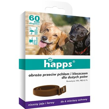 80a5db1dc90f Obroża na pchły i kleszcze dla dużych psów BROS HAPPS