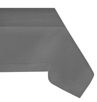 Obrus plamoodporny MESA z mereżką, szary, 140x240 cm-Mesa Witold Dynowiec