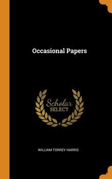 Occasional Papers-Harris William Torrey