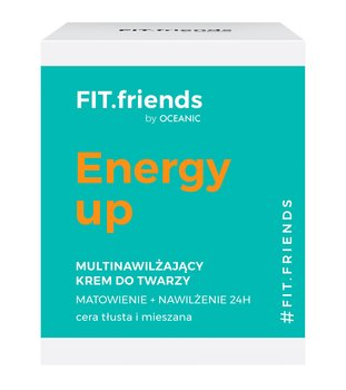 Oceanic, FIT.friends, multinawilżający krem matujący,  50 ml - Oceanic