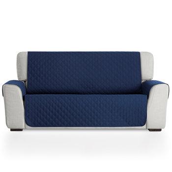 Ochraniacz jednostronny na sofę 3 osobową granatowy/BESTCOVERS-BESTCOVERS
