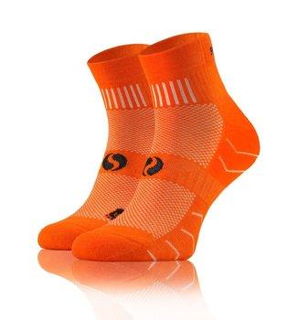 Oddychające sportowe skarpety AMZ z frotte Sesto Senso - pomarańczowy - 43-46-Sesto Senso