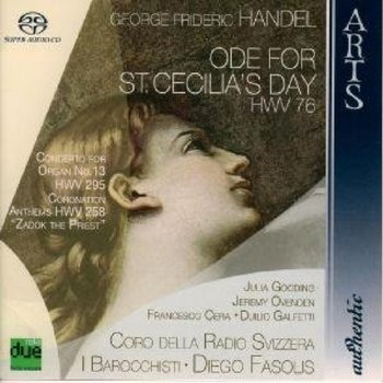 Ode For St. Cecilia's Day, Concerto For Organ No. 13 HMV 295, Coronation Anthems HWV 258 Zadok The Priest - Gooding Julia