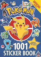 Official Pokemon 1001 Sticker Book-Pokemon
