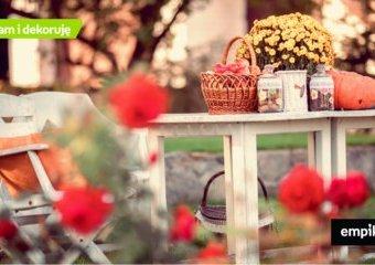 Ogród i taras w jesiennej odsłonie