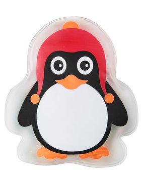 Ogrzewacz do rak, pingwin, czerwono-czarno-biały