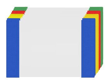 Okładka A5 na zeszyt przezroczysta zestaw 10szt - 10szt-Biurfol