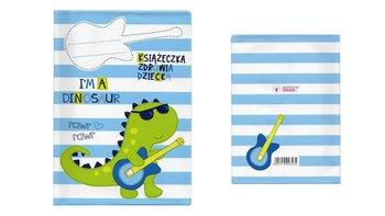 Okładka na książeczkę zdrowia dziecka, dinozaur-Biurfol