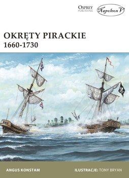 Okręty pirackie 1660-1730-Konstam Angus