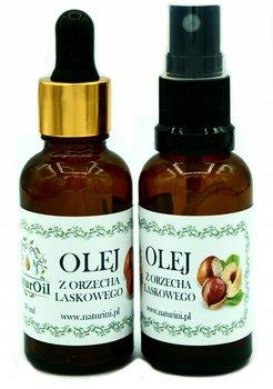 Olej orzecha laskowego tonizujący, do masażu 30ml-NaturOil