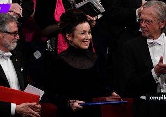 Olga Tokarczuk odebrała literackiego Nobla. Wzruszająca ceremonia w Sztokholmie