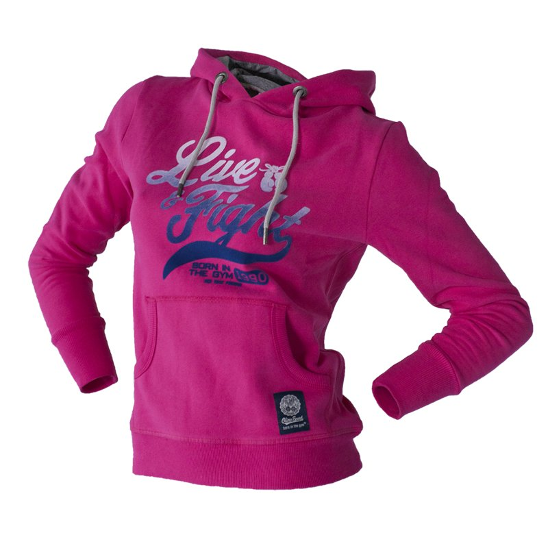 Olimp Live & Fight, Bluza damska, Rise, różowa, rozmiar M