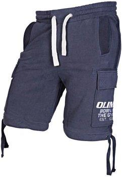 Olimp Live & Fight, Spodenki męskie, Heavyweight, granatowe, rozmiar L-Olimp Live & Fight