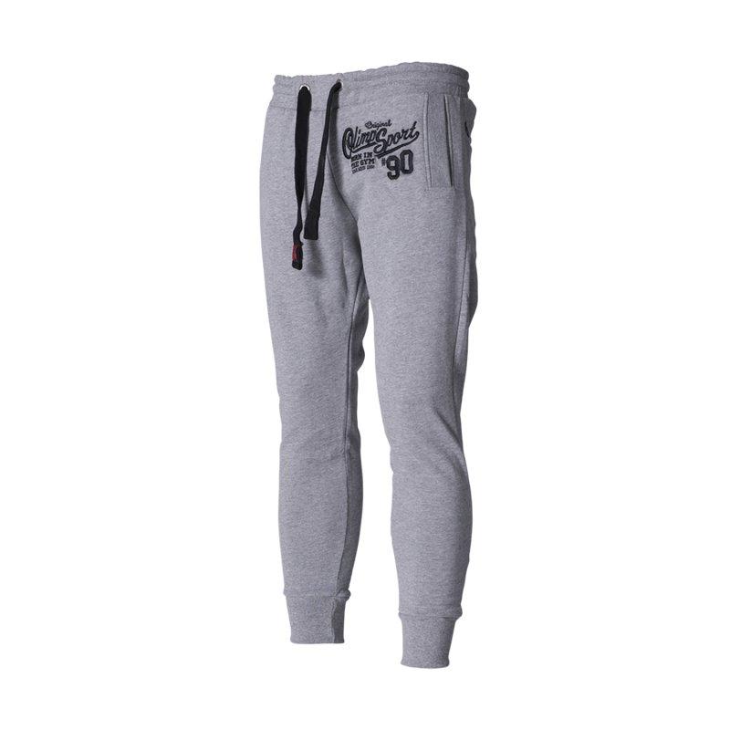 Olimp Live & Fight, Spodnie męskie, Stacked, szare, rozmiar XL