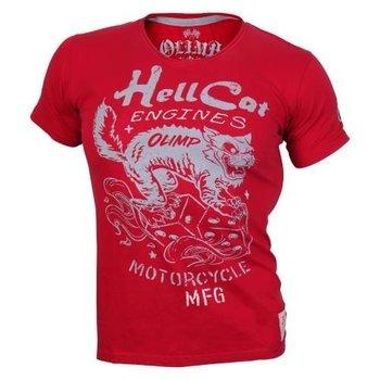 Olimp Live & Fight, T-shirt męski, Tee Hell Cat, rozmiar XL-Olimp Live & Fight