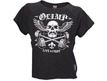 Olimp Live & Fight, T-shirt męski z krótkim rękawem, Bruce, rozmiar XXL-Olimp Live & Fight