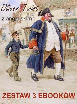 Oliver Twist z angielskim. Zestaw 3 ebooków-Dickens Charles, Doyle Arthur Conon, Owczarek Marta