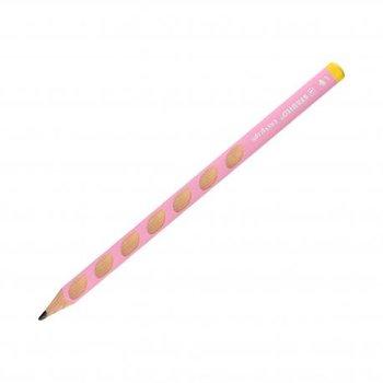 Ołówek do nauki pisania EasyGraph, HB, pastelowy różowy-Stabilo