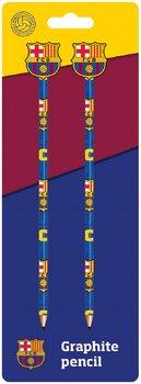 Ołówek z gumką, FC Barcelona, 2 sztuki-Eurocom