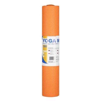 One Fitness, Mata do jogi, YM02, pomarańczowy, 173x61 cm-One Fitness