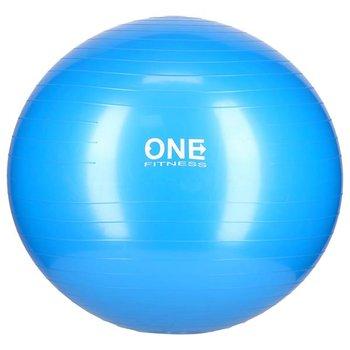 One Fitness, Piłka gimnastyczna, GB10, niebieski, 65 cm-One Fitness