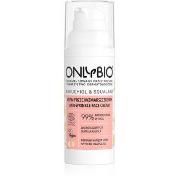 Onlybio, Bakuchiol & Squalane, krem przeciwzmarszczkowy do twarzy, 50 ml-ONLYBIO