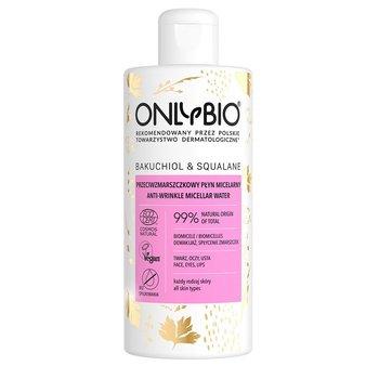 OnlyBio, Bakuchiol & Squalane przeciwzmarszczkowy płyn micelarny 300ml-ONLYBIO
